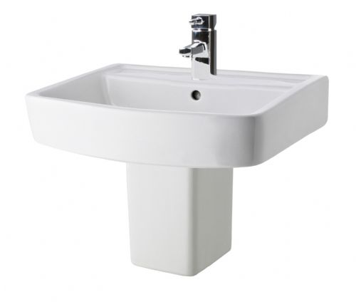Bliss 520mm Basin & Semi Pedestal NCG400 CBL011